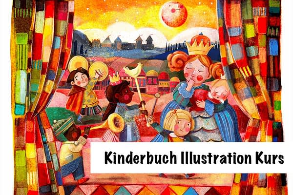 Kinderbuch Illustration Kurs