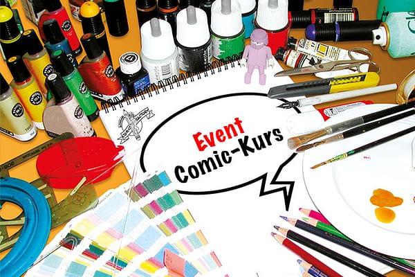 Comic – Kurs  für Vereine oder Firmenevent