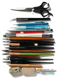 Illustration Kurs Material